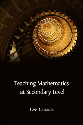Teaching Mathematics at Secondary Level - Open Book Publishers