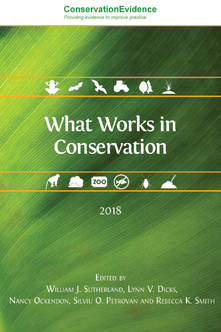 what works in conservation 2018 open book publishers