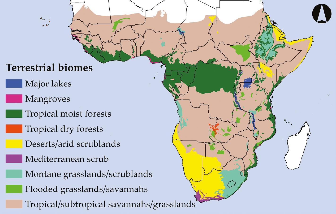 Sub Saharan Africa Climate Map.2 Introduction To Sub Saharan Africa